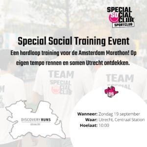 Hardloop training Utrecht City Run
